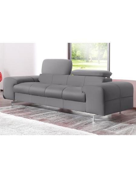 2 Sitzer Standard Kunstleder Softlux Grau Polstermöbel Hagebau